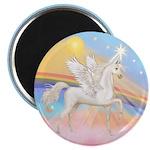 Clouds/Horse (Ar-W) Magnet