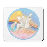 Clouds/Horse (Ar-W) Mousepad