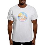 Clouds/Horse (Ar-W) Light T-Shirt