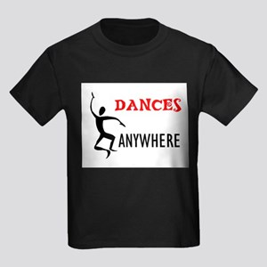 DANCING FOOL Kids Dark T-Shirt