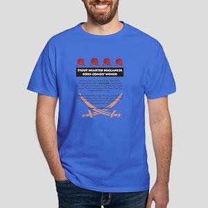 Pirate Personal Ad Dark T-Shirt