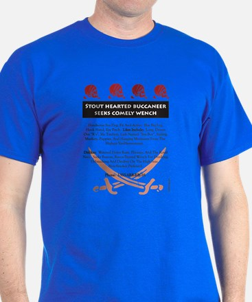 Pirate Personal Ad T-Shirt