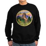 Mt Country/Horse (Ar-Brn) Sweatshirt (dark)