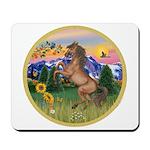 Mt Country/Horse (Ar-Brn) Mousepad