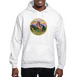 Mt Country/Horse (Ar-Brn) Hooded Sweatshirt