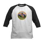 Mt Country/Horse (Ar-Brn) Kids Baseball Jersey
