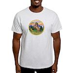 Mt Country/Horse (Ar-Brn) Light T-Shirt
