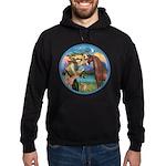 St Francis/Horse (Ar-Brn) Hoodie (dark)