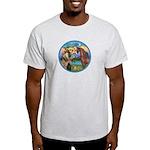 St Francis/Horse (Ar-Brn) Light T-Shirt