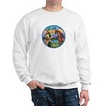 St Francis/Horse (Ar-Brn) Sweatshirt