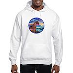 Wave/Horse( Ar-Brn) Hooded Sweatshirt