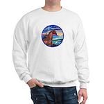 Wave/Horse( Ar-Brn) Sweatshirt