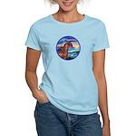 Wave/Horse( Ar-Brn) Women's Light T-Shirt