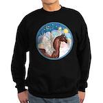 Clouds/Horse (Ar-Br) Sweatshirt (dark)