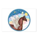 Clouds/Horse (Ar-Br) Postcards (Package of 8)
