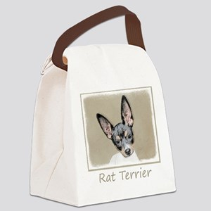 Rat Terrier Canvas Lunch Bag