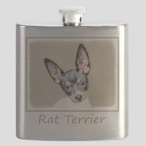 Rat Terrier Flask