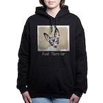 Rat Terrier Women's Hooded Sweatshirt