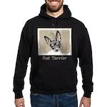 Rat Terrier Hoodie (dark)