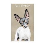 Rat Terrier Sticker (Rectangle 10 pk)