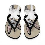 Rat Terrier Flip Flops