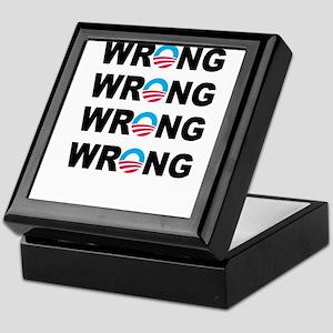 Wrong-O Keepsake Box