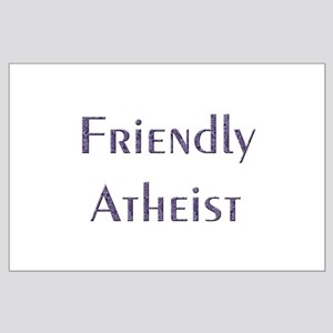 Friendly Atheist Large Poster