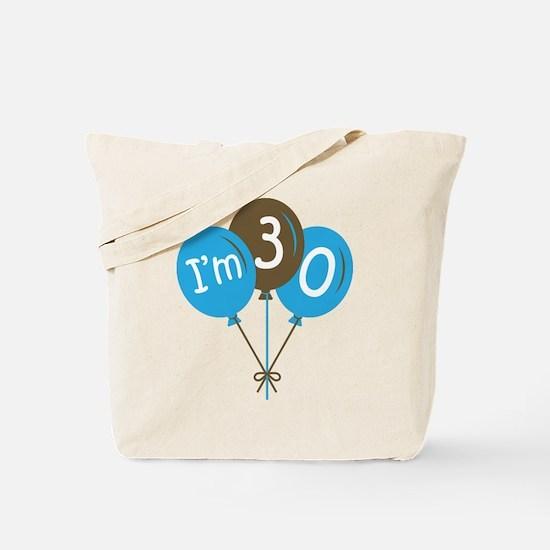 Fun 30th Birthday Tote Bag