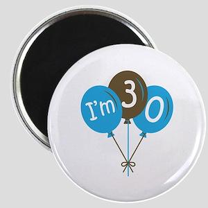 Fun 30th Birthday Magnet