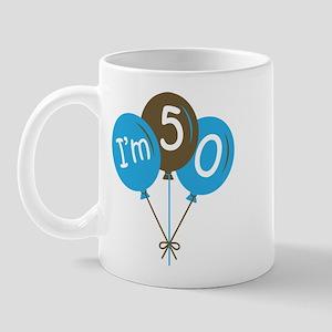 Fun 50th Birthday Mug