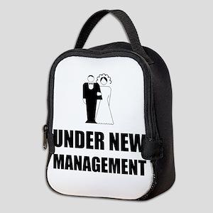 Under New Management Wedding Neoprene Lunch Bag