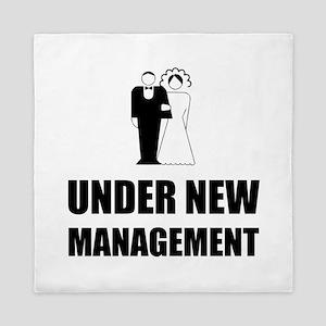 Under New Management Wedding Queen Duvet