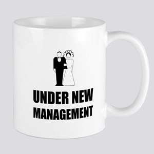 Under New Management Wedding Mugs