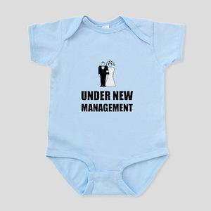 Under New Management Wedding Body Suit