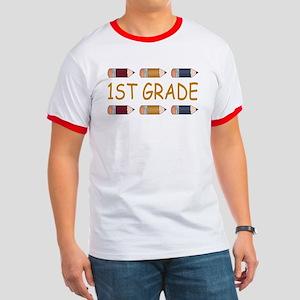 School 1st Grade Ringer T