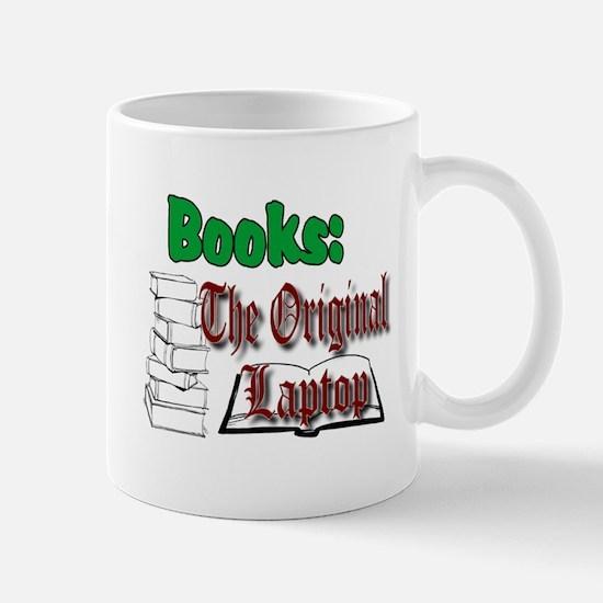 Books: the Original Laptop Mug