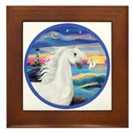 Wave/Horse (Ar-W) Framed Tile