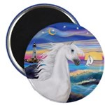 Wave/Horse (Ar-W) Magnet