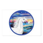 Wave/Horse (Ar-W) Postcards (Package of 8)