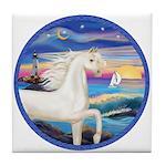 Wave/Horse (Ar-W) Tile Coaster