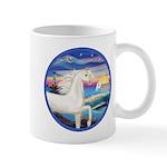 Wave/Horse (Ar-W) Mug
