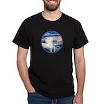 Wave/Horse (Ar-W) Dark T-Shirt