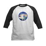 Wave/Horse (Ar-W) Kids Baseball Jersey