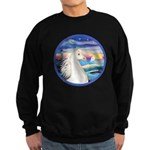 Wave/Horse (Ar-W) Sweatshirt (dark)