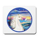 Wave/Horse (Ar-W) Mousepad
