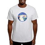 Wave/Horse (Ar-W) Light T-Shirt
