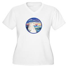 Wave/Horse (Ar-W) T-Shirt