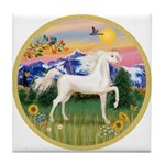 Mt Country/Horse (Ar-W) Tile Coaster