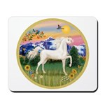 Mt Country/Horse (Ar-W) Mousepad