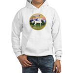 Mt Country/Horse (Ar-W) Hooded Sweatshirt